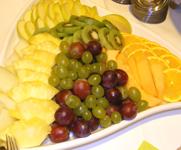 Buffetausschnitt mit Obst